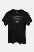 Camiseta Masculina Liga da Justiça Snyder Cut - Superman Logo Dark