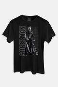Camiseta Masculina Liga da Justiça Snyder Cut - Superman Uniforme Preto
