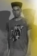 Camiseta Masculina Liga da Justiça Snyder Cut - Steppenwolf Pose