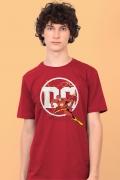 Camiseta Masculina Logo DC Flash