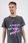 Camiseta Masculina Marmorizada Jovens Titãs Ravena Azarath Metrion Zinthos