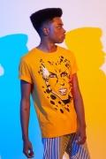 Camiseta Masculina Mulher Maravilha 1984 Cheetah Rosto