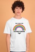 Camiseta Masculina Mulher Maravilha We Can Do Everything