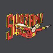 Camiseta Masculina Shazam Em Ação 2