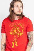 Camiseta Masculina Shazam Silhouette