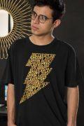 Camiseta Masculina Shazam Thunder Black
