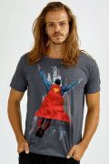T-shirt Premium Masculina Superman 80 Anos Fly
