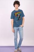 Camiseta Masculina Superman 80 Anos Smile