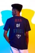 Camiseta Masculina Superman Man of Steel