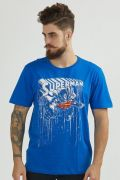 Camiseta Masculina Superman Melting Color