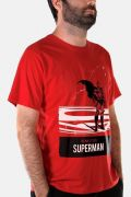 Camiseta Masculina Superman The Man Of Steel