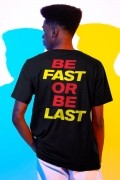 Camiseta Masculina The Flash Be Fast or Be Last
