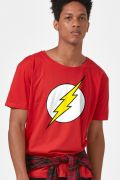 Camiseta Masculina The Flash Logo