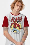 Camiseta Masculina The Flash Vintage