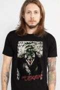 Camiseta Masculina The Joker A Piada Mortal Black