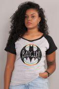 Camiseta Raglan Feminina Batgirl