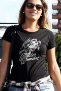 Camiseta Feminina Wonder Woman Fashion