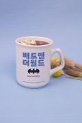 Caneca Batman O Mundo Coréia do Sul
