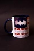 Caneca Batman O Mundo Estados Unidos