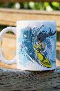 Caneca Batman Surf