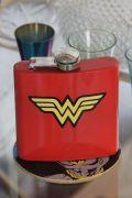 Cantil de Inox Wonder Woman Logo