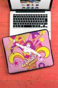 Capa de Notebook Power Girls Mulher Maravilha In Action