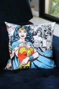 Capa para Almofada Dc Mulher Maravilha Comics