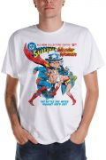 Camiseta Masculina Wonder Woman VS Superman