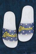 Chinelo Slide Mulher Maravilha Estrelas