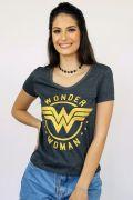 Combo 3 Camisetas Femininas Wonder Woman BF
