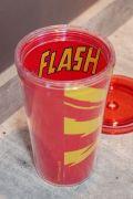 Copo com Tampa e Canudo The Flash Speedy