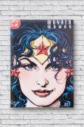 Quadro-Tela DC Mulher Maravilha Expressive Face