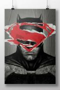 Pôster Batman VS Superman Day VS Night
