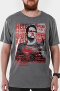 T-shirt Premium Masculina Batman VS Superman False God