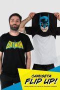 Camiseta Flip Up Batman