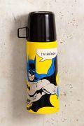 Garrafa Térmica de Inox com Caneca de Plástico I'm Batman