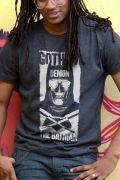T-shirt Premium Masculina Batman VS Superman Gotham Demon
