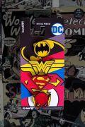 Kit 4 Pins de Metal DC Comics