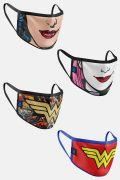 Kit com 4 Máscaras DC Comics Women