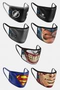 Kit com 7 Máscaras Uma Pra Cada Dia Da Semana