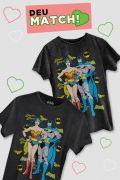 Kit Mulher Maravilha e Batman Juntos