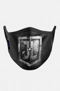 Máscara Liga da Justiça Logo