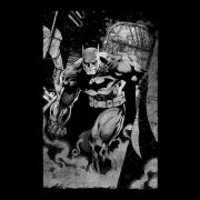 Moletinho Preto Tracing Batman
