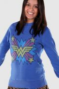 Moletinho Wonder Woman Logo Star