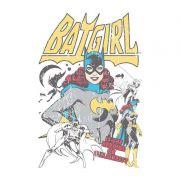 Moletom Com Capuz Branco Batgirl