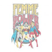 Moletom com Capuz Branco Power Girls Femme Power