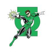 Moletom Com Capuz Preto Lanterna Verde da Terra