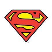 Moletom Com Capuz Preto Logo Superman Oficial