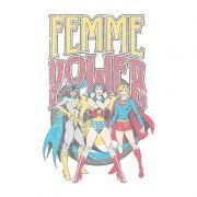 Moletom Com Capuz Preto Power Girls Femme Power