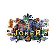 Moletom Com Capuz Preto The Joker King Of Crazy